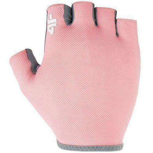 4f Rękawiczki kolarskie h4l18-rru001 łososiowy
