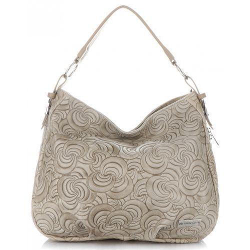 fc2d8ca074eed Zobacz ofertę Vittoria gotti ekskluzywne torebki skórzane z modnymi  tłoczeniami ziemiste (kolory)