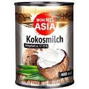 Mleko kokosowe 82% wyciągu z kokosa w puszce 400ml  BonAsia 4316734086965  Mleko kokosowe 82%