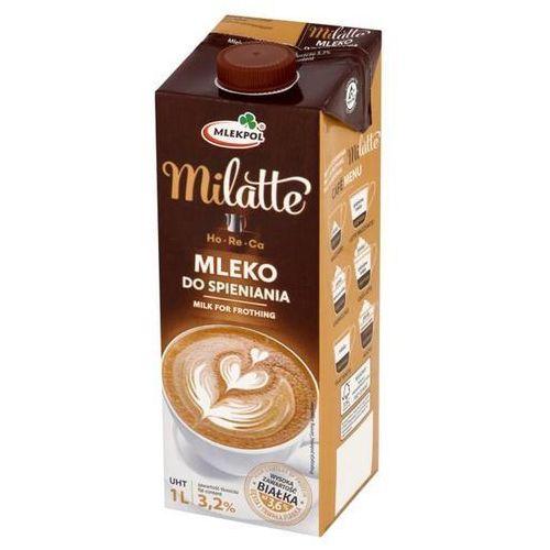 Mleko Mlekpol Milatte do spienienia 3,2% 1l