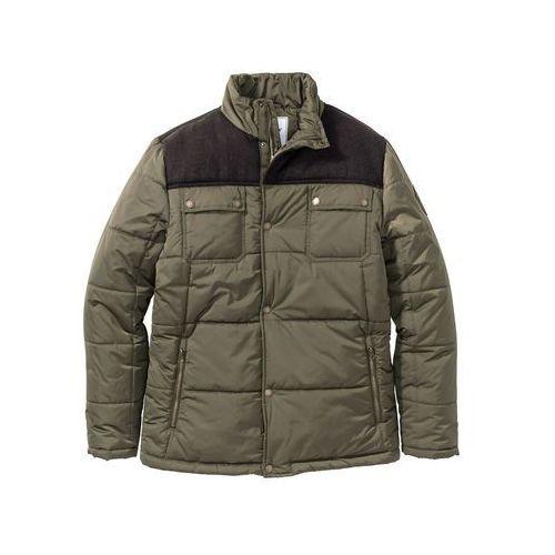97448f5a9 Zobacz w sklepie Kurtka zimowa ocieplana bonprix ciemnooliwkowy, zimowa