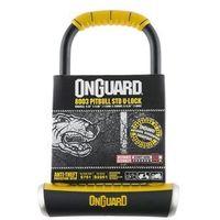 Zapiecie, U-lock Onguard z uchwytem mocujacym Pitbull STD 8003