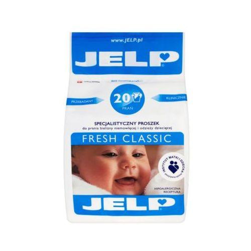 Jelp 1,6kg fresh classic specjalistyczny proszek do prania odzieży dziecięcej (20 prań) marki Danlind