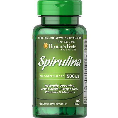 Puritan's pride Spirulina, 100 tabletek., 500 mg