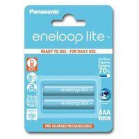 Akumulatorki PANASONIC Eneloop Lite AAA 550mAh 2 szt.