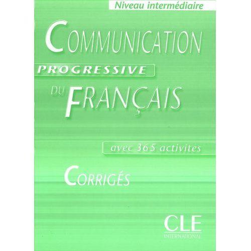 Communication Progressive du francais Intermediaire Corriges, Miquel Claire