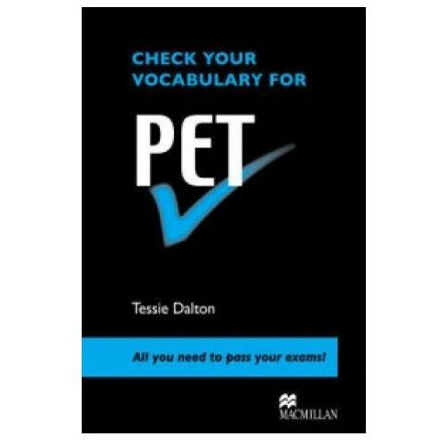 Check your Vocabulary for PET (9780230033597)