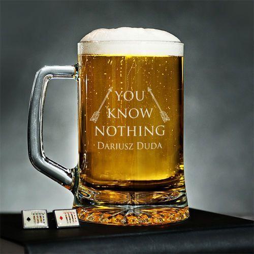 You Know Nothing - Kufel na piwo - Kufel do piwa