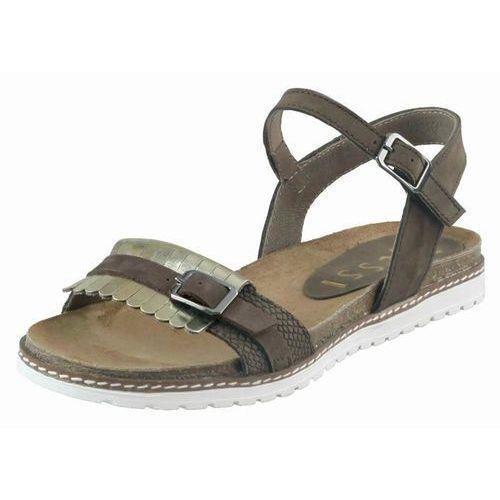 Sandały letnie Nessi 17178, kolor brązowy