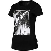 Puma koszulka damska Photo Tee Cotton Black XS