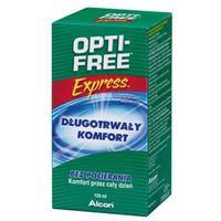 OPTI-FREE 120ml Express Wielofunkcyjny płyn dezynfekujący do miękkich soczewek kontaktowych