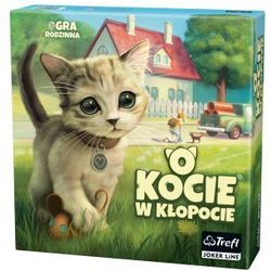 O kocie w kłopocie. gra planszowa marki Trefl