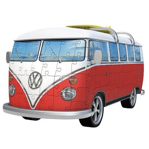 Puzzle 3D Volkswagen Bus T1 162 elementów 125166 - Ravensburger