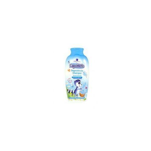Saponello - płyn do kąpieli i szampon dla dzieci 2w1 - wata cukrowa (400 ml)