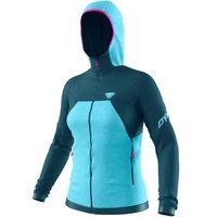 Dynafit Tour Wool Thermal Bluza Kobiety, petrol/niebieski M 2021 Zimowe kurtki i kamizelki do biegania
