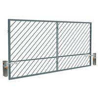 Brama automatyczna Polbram Steel Group Ofelia 4 0 x 1 5 m ocynk malowany RAL 7016 (5901891479423)
