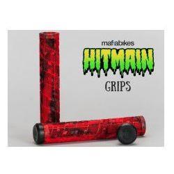Gripy MAFIABIKES Hitmain Red Black, MAF-08-F