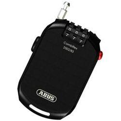 ABUS Combiflex Pro 2502 Kłódka z linką zwijaną Szyfrowy, black 2020 Zabezpieczenia rowerowe