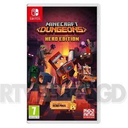 Nintendo Gra switch minecraft dungeons