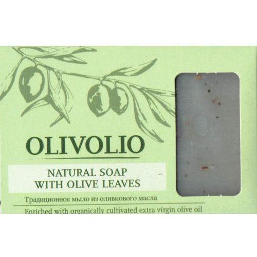 Naturalne mydło sodowe szare z liściem oliwki i oliwą z oliwek 75-78% Olivolio