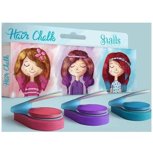 Snails zmywalne kredy do włosów - 3 kolory