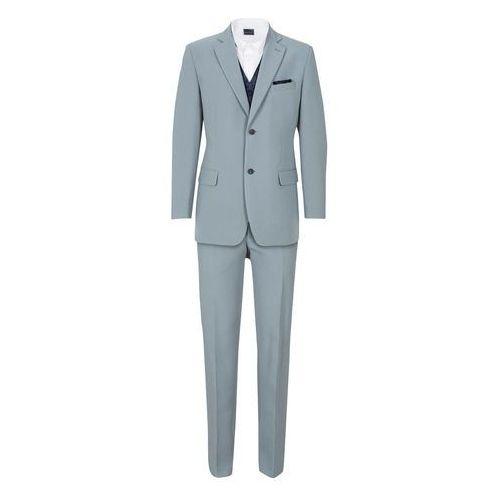 a5c37c6abe87d Garnitur 5-częściowy (marynarka, spodnie, kamizelka, krawat i chusteczka do  butonierki