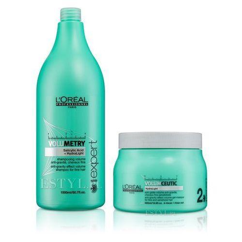 Loreal volumetry zestaw nadający objętość   szampon 1500ml + maska 500ml