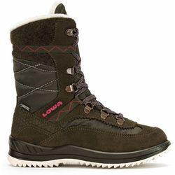 Nowe dziecięce buty emely gtx hi brown/bordaux rozmiar 31/19,5cm marki Lowa