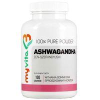 Ashwagandha Żeń-szeń indyjski 3000mg 100g MyVita (5903021590770)