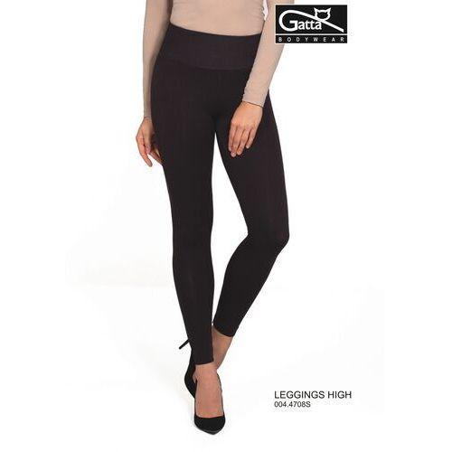 Gatta Legginsy 44708 high rozmiar: s, kolor: czarny/nero, gatta