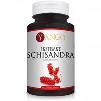 Schisandra - ekstrakt 10:1 - 90 kaps Yango (5905279845589)