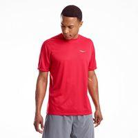 saucony Stopwatch Koszulka z krótkim rękawem Mężczyźni, saucony red XL 2020 Koszulki do biegania Przy złożeniu zamówienia do godziny 16 ( od Pon. do Pt., wszystkie metody płatności z wyjątkiem przelewu bankowego), wysyłka odbędzie się tego samego dnia.