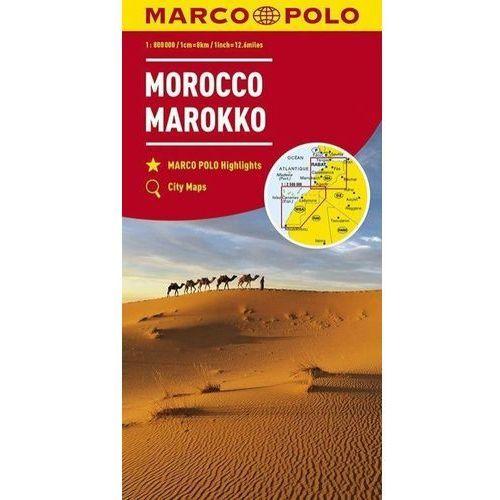 Mapa Drogowa Marco Polo. Maroko 1:800 000 w.2018 - Praca zbiorowa (2018)