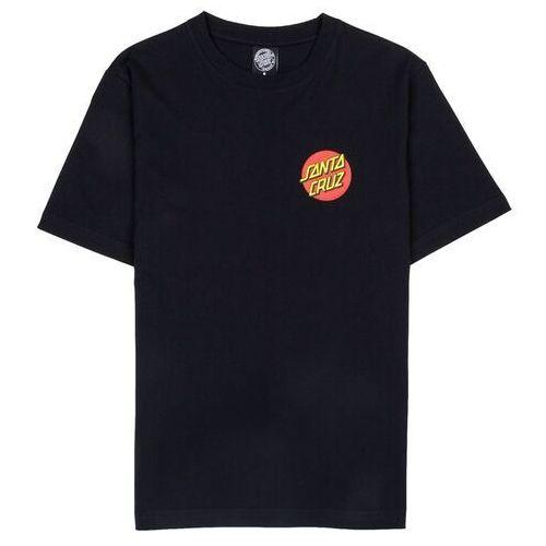 koszulka SANTA CRUZ - Classic Dot Tee Black (BLACK)