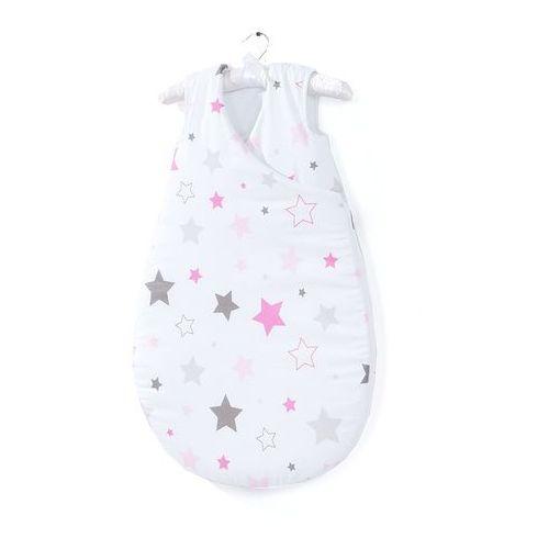 Mamo-tato śpiworek niemowlęcy do spania bubble - gwiazdozbiór różowy