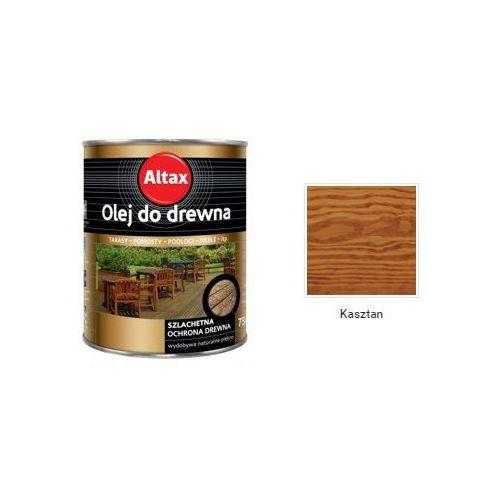 Altax - olej do drewna, kasztan, 0.75 l