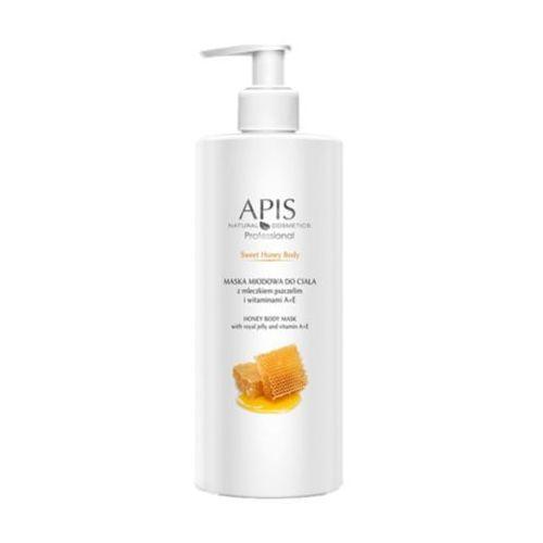 Sweet honey body maska miodowa do ciała z mleczkiem pszczelim i witaminami a+e (52955) Apis