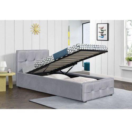 Łóżko z materacem tapicerowane 90x200 sfg004 welur #77 marki Meblemwm