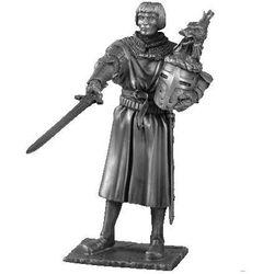 Figurka lancelot - rycerze okrągłego stołu - (tr003) marki Les etains du graal