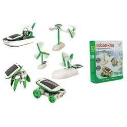 Zabawka - zestaw edukacyjny solarny 6w1 robot solar. marki Cutesunlight toys factory