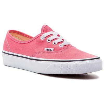778cf754bf47e Tenisówki - authentic vn0a38emgy71 strawberry pink/truewhite marki Vans  eobuwie.pl