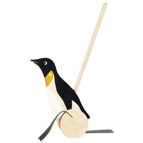 Zabawka do pchania na kółkach, Pingwin Max