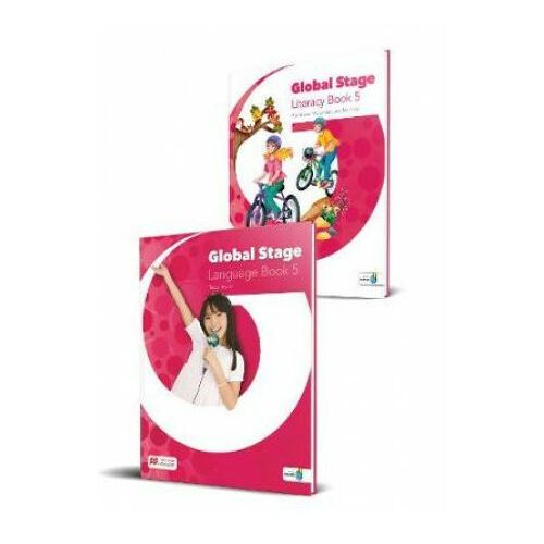 Global Stage 5 Language/Literacy Book + kod NAVIO - Praca zbiorowa (2019)