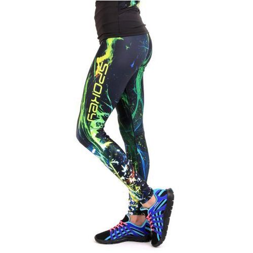 Spokey Spodnie fitness lea damskie długie leginsy (rozmiar m)