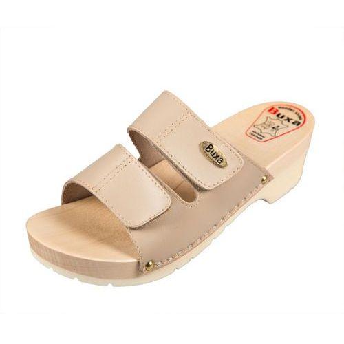 Klapki buty medyczne KPU1 Beżowy - rozm.37, 1 rozmiar