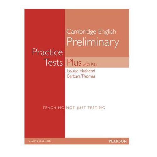 PET Practice Tests Plus. Podręcznik z Kluczem, Pearson