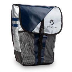 Yukatana yuka torba na bagażnik rowerowy wodoszczelna 14 litrów metalik/niebieska