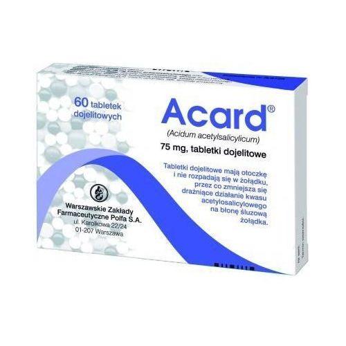 Tabletki ACARD 75mg x 60 tabletek