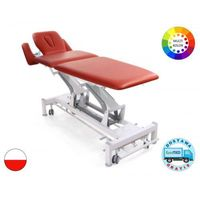 Stół rehabilitacyjny terapeuta m-s5.f4 z elektryczną regulacją wysokości z ramy i funkcją fotela marki Meden-inmed