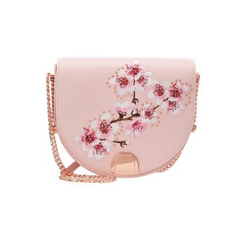 Ted Baker SUSY SOFT BLOSSOM MOON BAG Torba na ramię pink